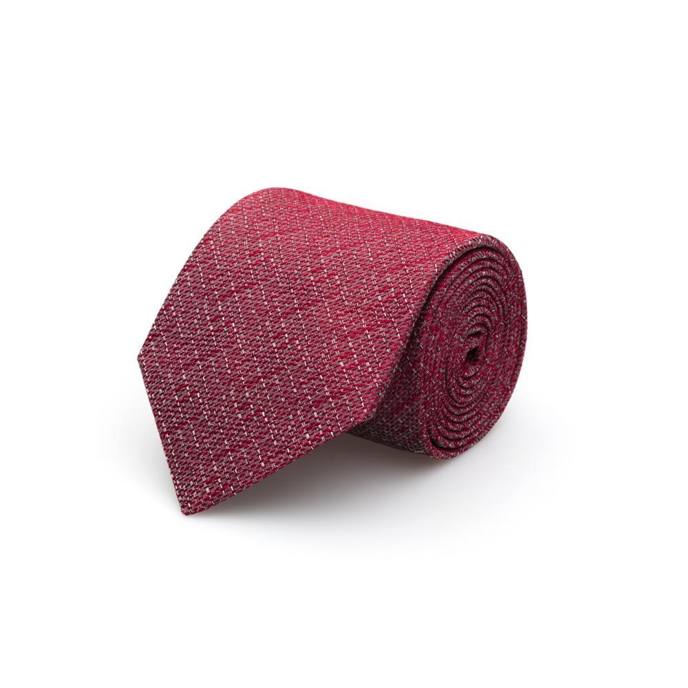 Cerruti Kırmızı Melange Ipek Kravat