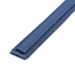 Cerruti - Cerruti Açık Mavi Örgü Ipek Kravat (1)