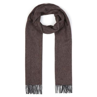 Dante - Dante Brown Wool Cashmere Scarf
