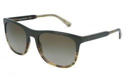 Emporio Armani - Emperio Armani Military Striped Honey Sunglasses