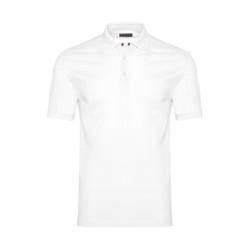 Gallus - Gallus Beyaz Piquet Filo Di Scozia Polo Yaka T-Shirt