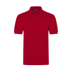 Gallus - Gallus Kırmızı Piquet Filo Di Scozia Polo Yaka T-Shirt