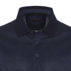 Gallus Lacivert Dokulu Filodi Scozia Polo T-Shirt - Thumbnail