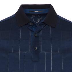 Gallus - Gallus Lacivert Filafil Filo Di Scozia Polo Yaka Tailor Fit T-Shirt (1)