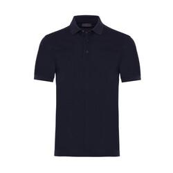 Gallus - Gallus Lacivert Piquet Filo Di Scozia Polo Yaka T-Shirt