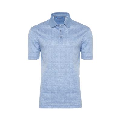 Gallus - Gallus Mavi Dokulu Filodi Scozia Polo T-Shirt