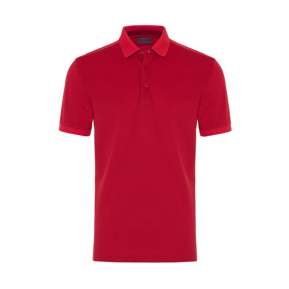 Gallus Mercan Piquet Filo Di Scozia Polo Yaka T-Shirt