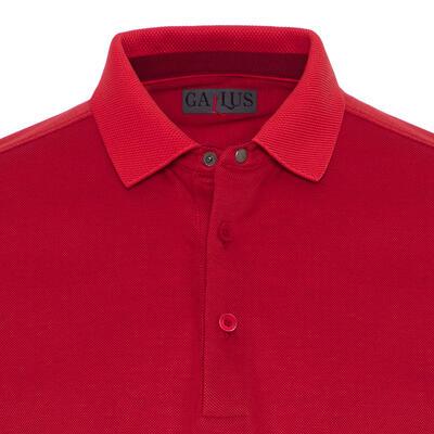 Gallus - Gallus Coral Piquet Filo Di Scozia Polo Collar T-Shirt (1)