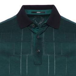 Gallus - Gallus Ördek Başı Yeşili Filo Di Scozia Polo Yaka T-Shirt (1)