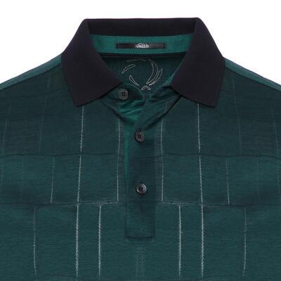 Gallus - Gallus Dark Green Filo Di Scozia Polo Collar T-Shirt (1)