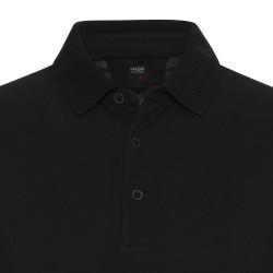 Gallus - Gallus Siyah Piquet Filo Di Scozia Polo Yaka Tailor Fit T-Shirt (1)