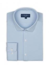 Germirli - Germirli 3D Streç Mavi Slim Fit Active Gömlek (1)