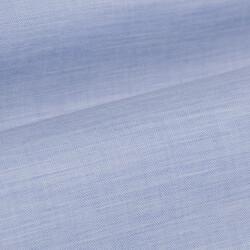 Germirli Açık Mavi Balıksırtı Flanel Düğmeli Yaka Tailor Fit Gömlek - Thumbnail
