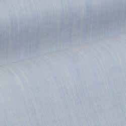 Germirli Açık Mavi Filafil Doku Düğmeli Yaka Tailor Fit Gömlek - Thumbnail