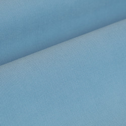 Germirli Açık Mavi Kadife Düğmeli Yaka Tailor Fit Gömlek - Thumbnail