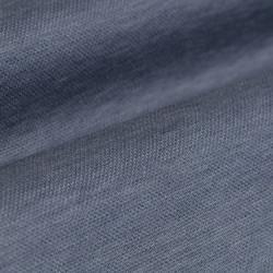 Germirli A.Mavi Klasik Yaka Piquet Örme Slim Fit Gömlek - Thumbnail
