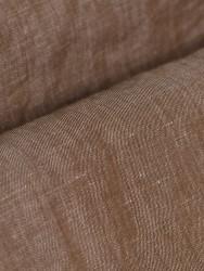 Germirli - Germirli A.Kahve Cepli Keten Overshirt Tailor Fit Gömlek (1)