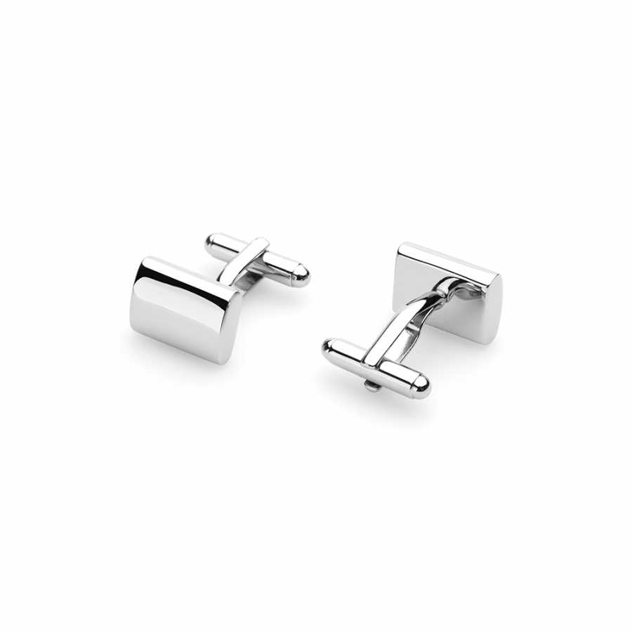 Germirli - Germirli Metal Elips Kol Düğmesi