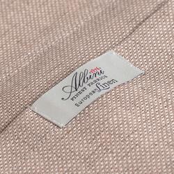 Germirli Bej Dokulu Keten Tailor Fit Ceket Gömlek - Thumbnail