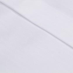 Germirli Beyaz Balıksırtı Gizli Pat Klasik Yaka Tailor Fit Gömlek - Thumbnail