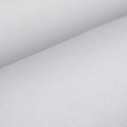Germirli Beyaz Keten Düğmeli Yaka Tailor Fit Gömlek - Thumbnail