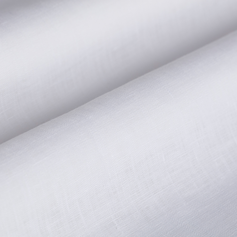 Germirli Beyaz Keten Special Tailor Fit Gömlek