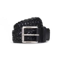 Germirli - Germirli Black Teres Knitted Belt