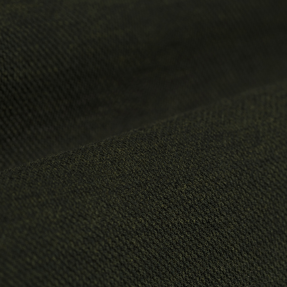 Germirli Dark Green Soft Collar Jersey Tailor Fit Shirt