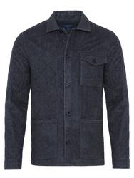Germirli - Germirli Füme Kapitone Tailor Fit Ceket Gömlek (1)