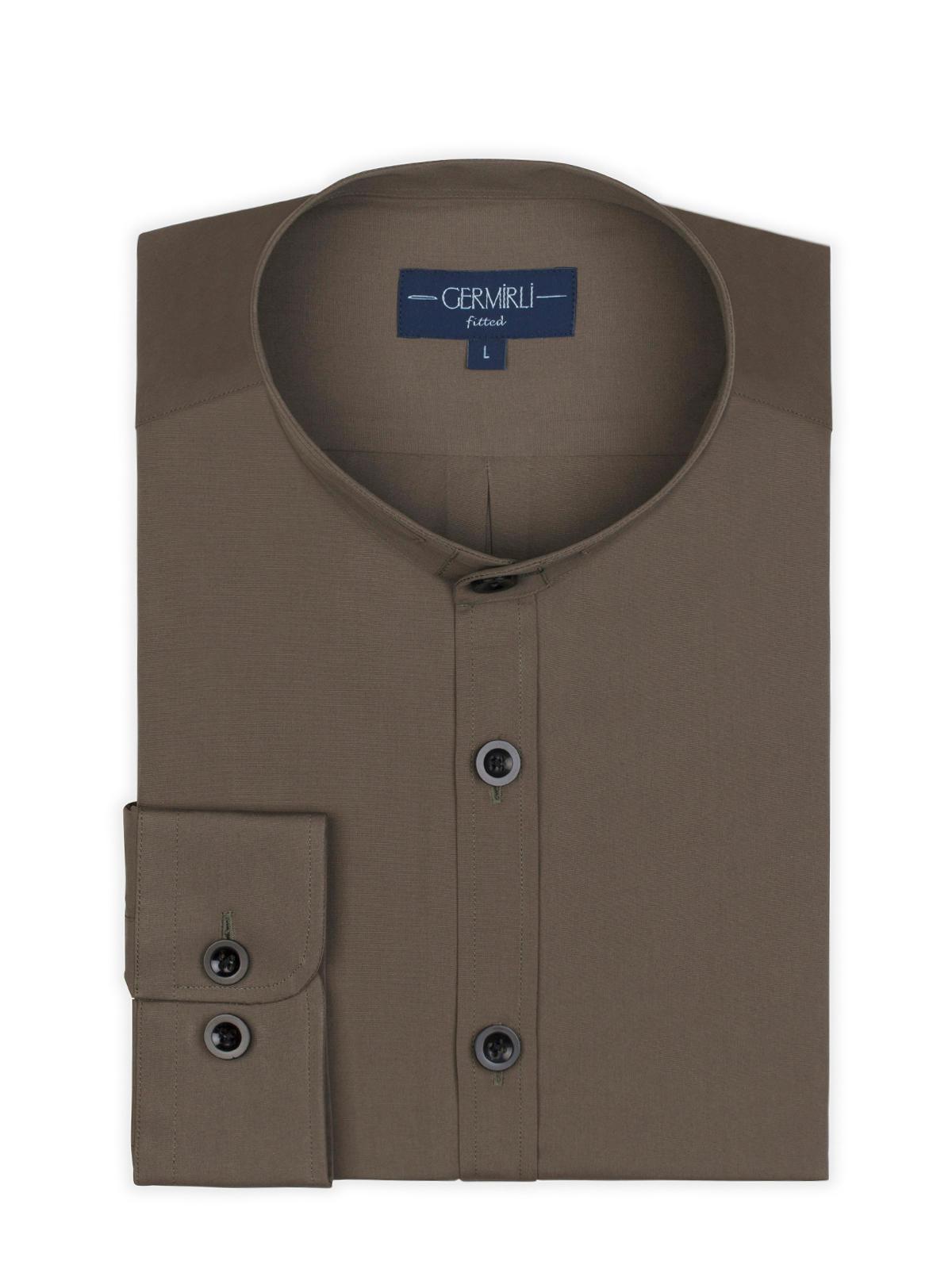 Germirli Grandad Collar Tailor Fit Shirt