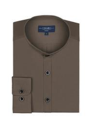 Germirli - Germirli Haki Hakim Yaka Tailor Fit Gömlek (1)