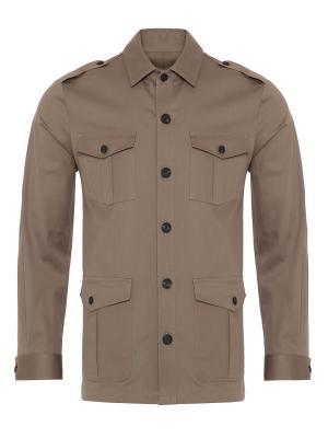 Germirli - Germirli Haki Twill Tailor Fit Ceket Gömlek (1)