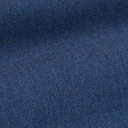 Germirli Havacı Mavi Flanel Düğmeli Yaka Tailor Fit Gömlek - Thumbnail