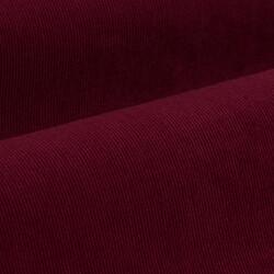Germirli Kiremit Kırmızısı Kadife Düğmeli Yaka Tailor Fit Gömlek - Thumbnail