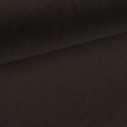 Germirli Koyu Kahverengi Twill Doku Düğmeli Yaka Tailor Fit Gömlek - Thumbnail