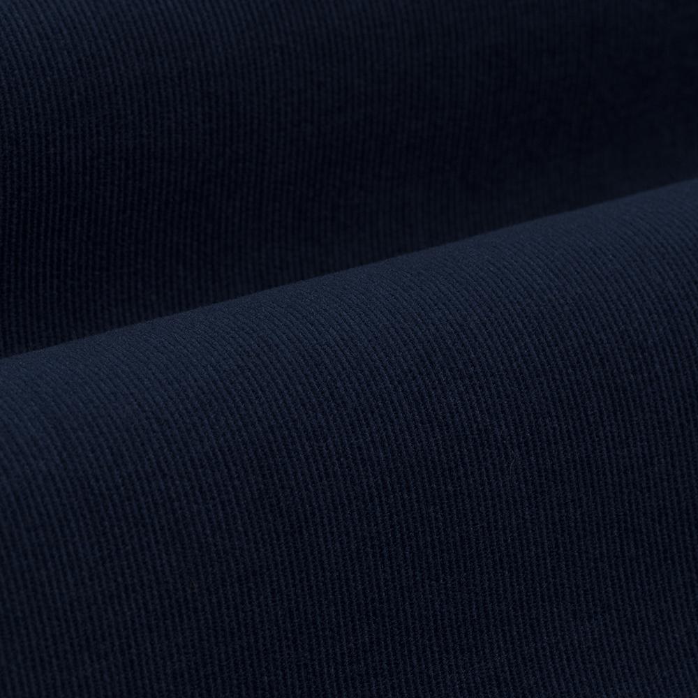 Germirli Koyu Lacivert Kadife Düğmeli Yaka Tailor Fit Gömlek