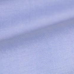 Germirli Koyu Mavi Açık Mavi Parçalı Düğmeli Yaka Tailor Fit Gömlek - Thumbnail