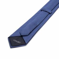 Germirli - Germirli Düz Havacı Mavi İpek Kravat (1)