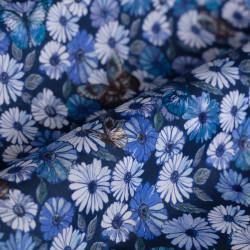 Germirli Laci Kahve Çiçekli Tailor Fit Gömlek - Thumbnail