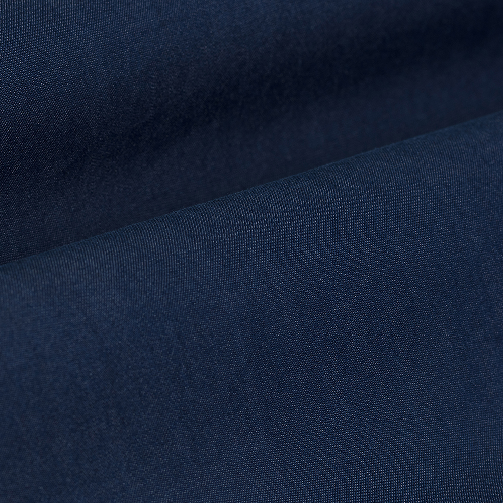 Germirli Lacivert Denim Cepli Overshirt Tailor Fit Gömlek