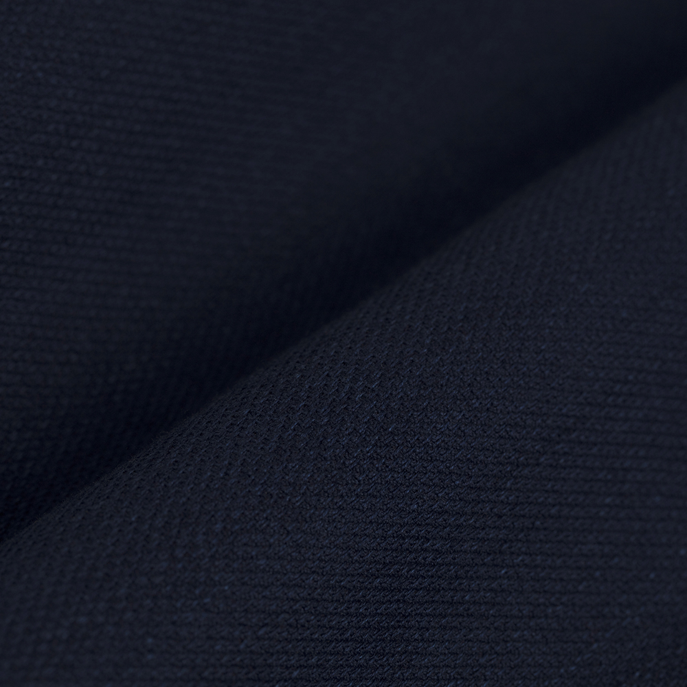 Germirli Lacivert Dokulu İndigo Tailor Fit Overshirt Gömlek