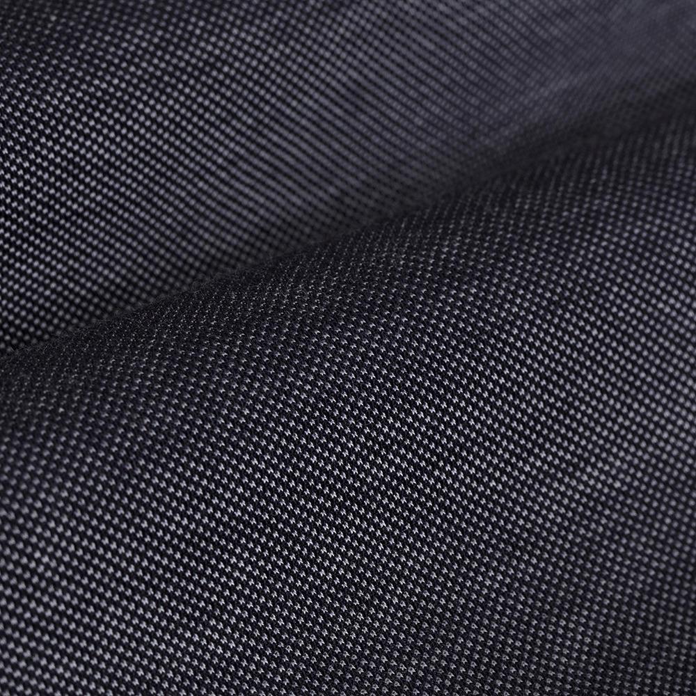 Germirli Koyu Lacivert Düğmeli Yaka Piquet Örme Slim Fit Gömlek