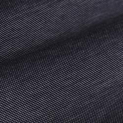 Germirli Koyu Lacivert Düğmeli Yaka Piquet Örme Slim Fit Gömlek - Thumbnail