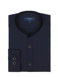 Germirli - Germirli Lacivert Hakim Yaka Tailor Fit Gömlek (1)