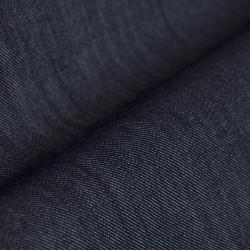 Germirli Lacivert Çift Kapak Cepli İndigo Tailor Fit Gömlek - Thumbnail