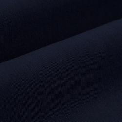 Germirli Lacivert Kadife Düğmeli Yaka Tailor Fit Gömlek - Thumbnail