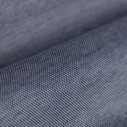 Germirli Lacivert Klasik Yaka Örme Kısa Kollu Slim Fit Gömlek - Thumbnail