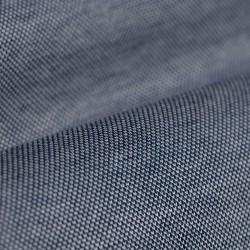 Germirli Lacivert Klasik Yaka Piquet Örme Tailor Fit Gömlek - Thumbnail