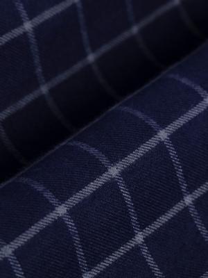Germirli - Germirli Lacivert Mavi Kareli Cepli Ceket Gömlek (1)