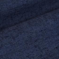 Germirli Lacivert Melange Düğmeli Yaka Flanel Tailor Fit Gömlek - Thumbnail